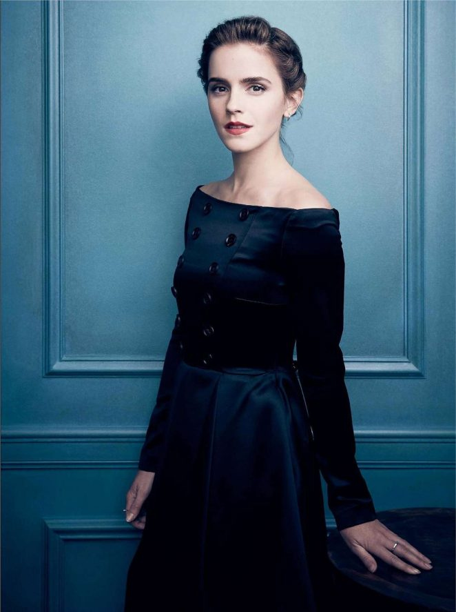 Emma Watson for The Hollywood Reporter Russia 2017