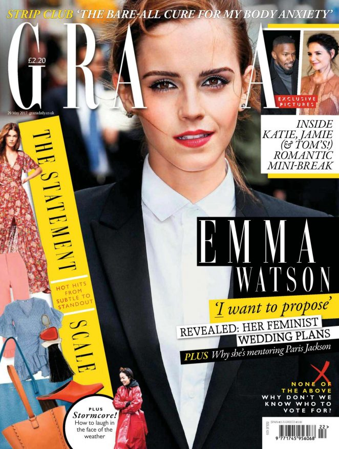 Emma Watson - Grazia UK Magazine (May 2017)