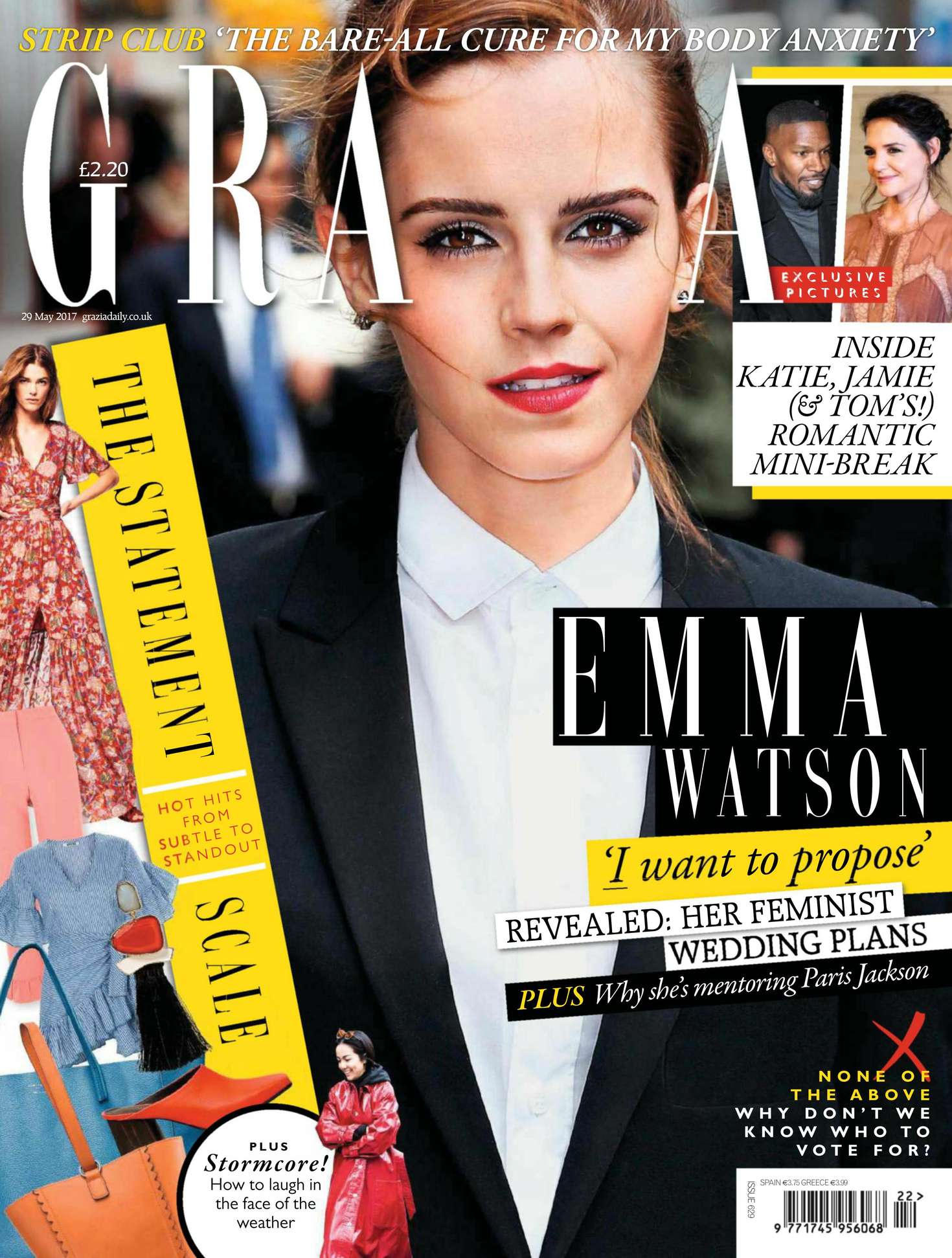Emma Watson - Grazia UK Magazine (May 2017)