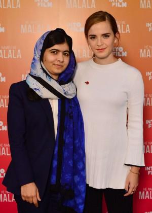 Emma Watson - 'He Named Me Malala' Premiere in London