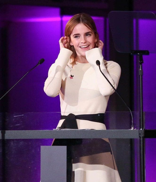 Emma Watson - HeForShe 2nd Anniversary Reception at MOMA in New York City