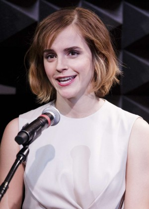 Emma Watson - HeForShe Art Week Launch 2016 in NYC