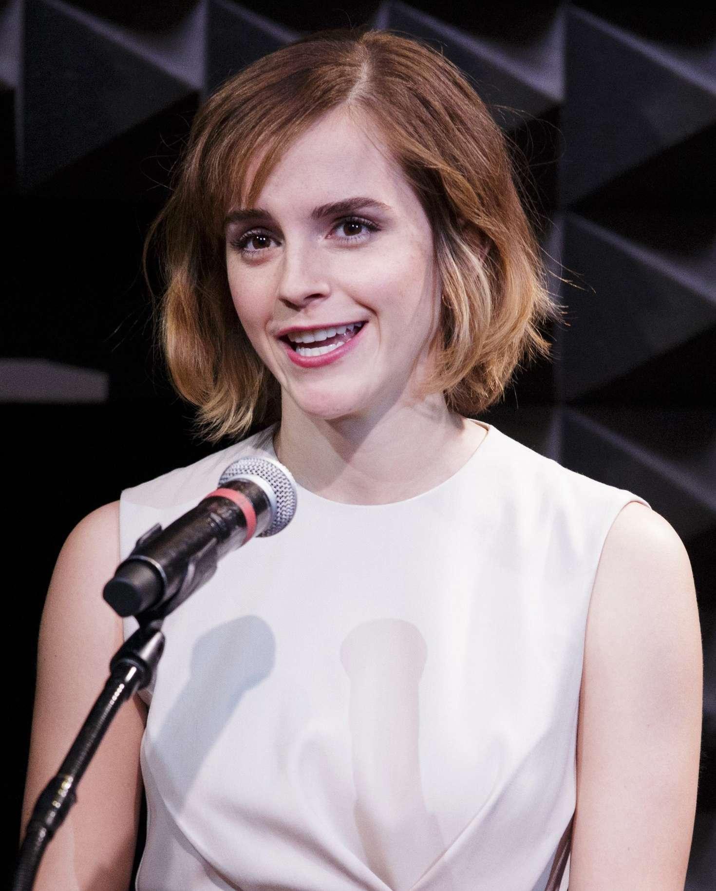 Emma Watson - HeForShe Art Week Launch 2016 in NYC