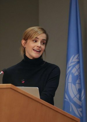 Emma Watson - 'HeForShe Impact' Celebrity Champion in New York
