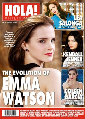 Emma Watson - HOLA! Philippines Magazine (August 2015)