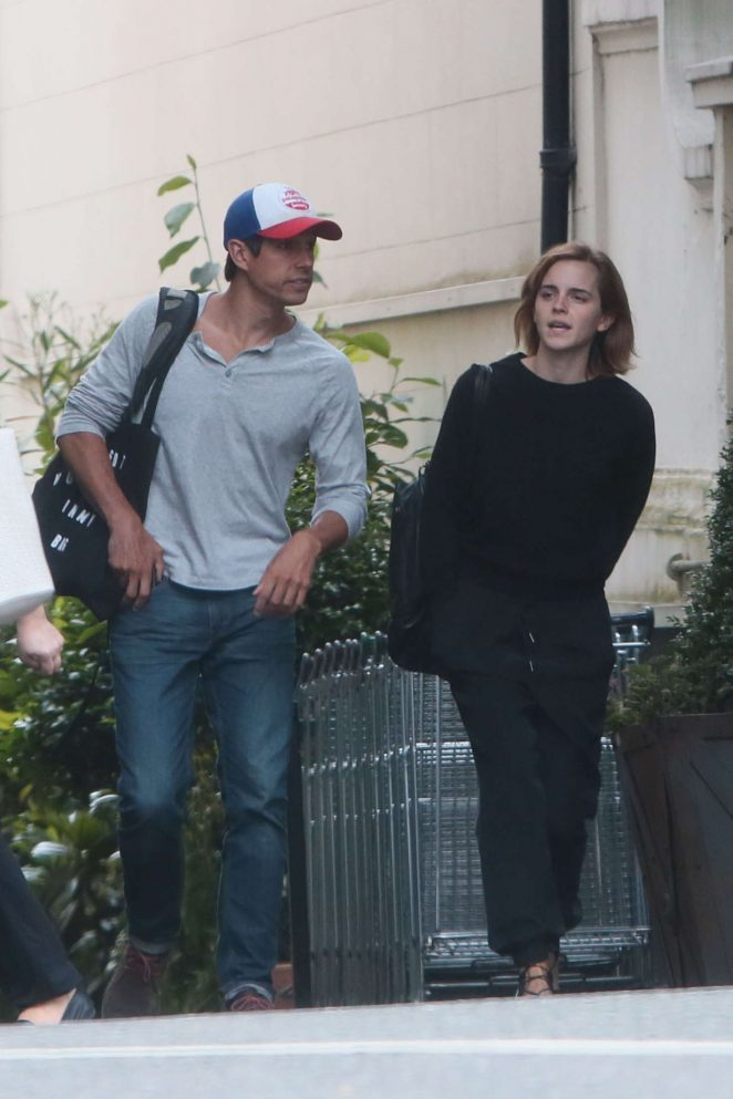 Emma Watson in Black -16
