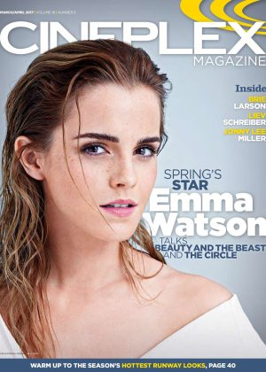 Emma Watson in Cineplex Magazine (March-April 2017)