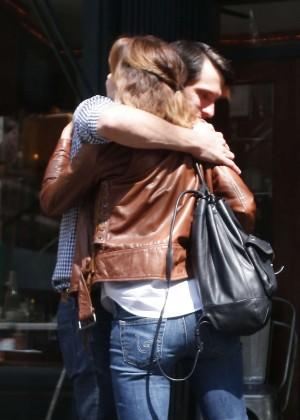 Emma Watson in Jeans Out in West Village