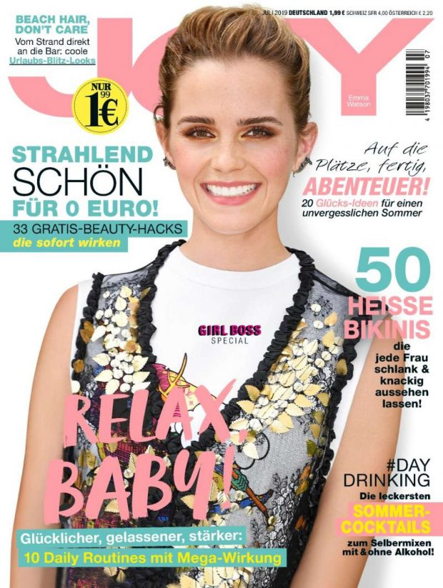 Emma Watson - Joy Germany Cover Magazine (July 2019)