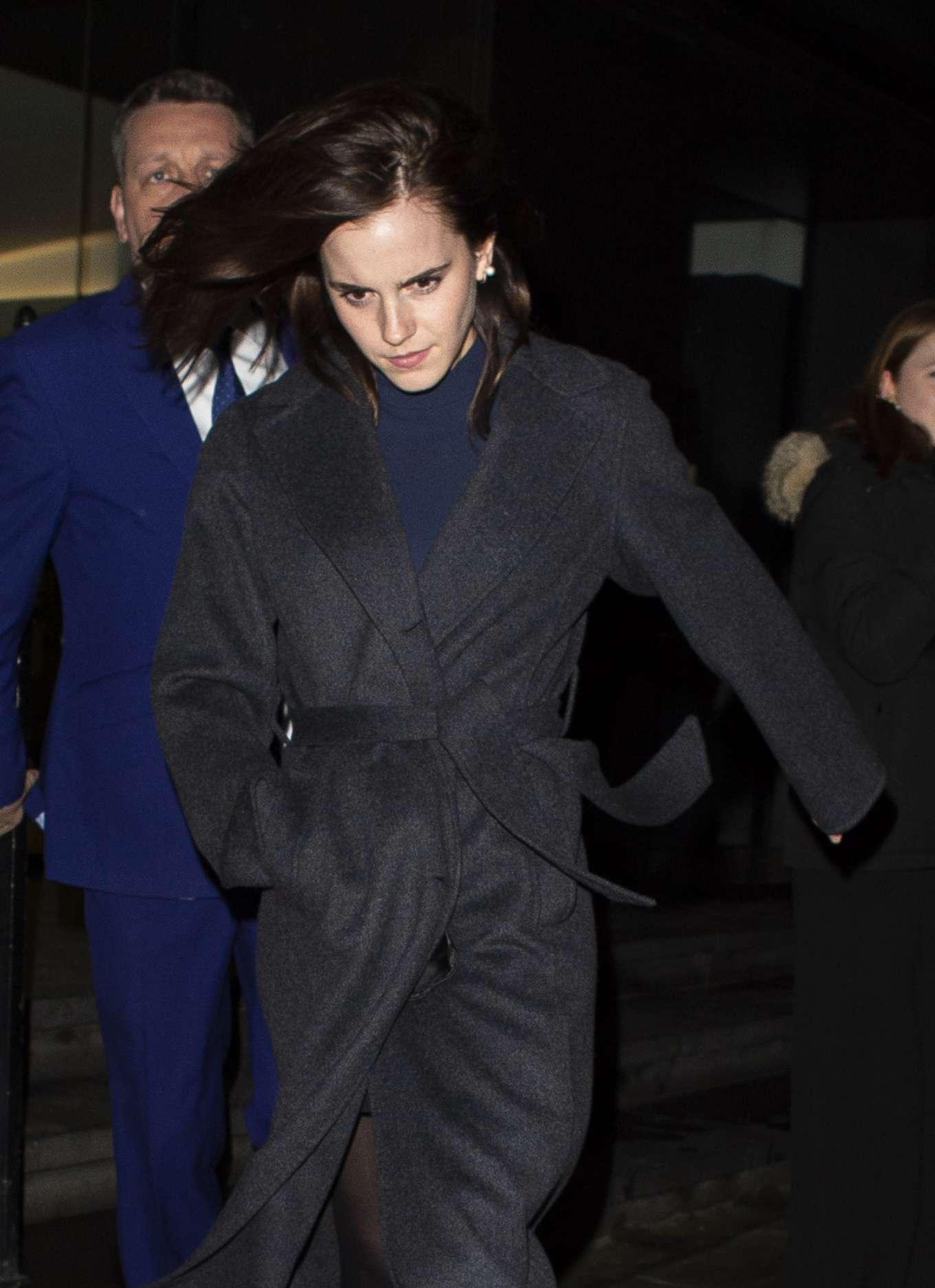 Emma Watson 2020 : Emma Watson – Leaving C restaurant in London-11