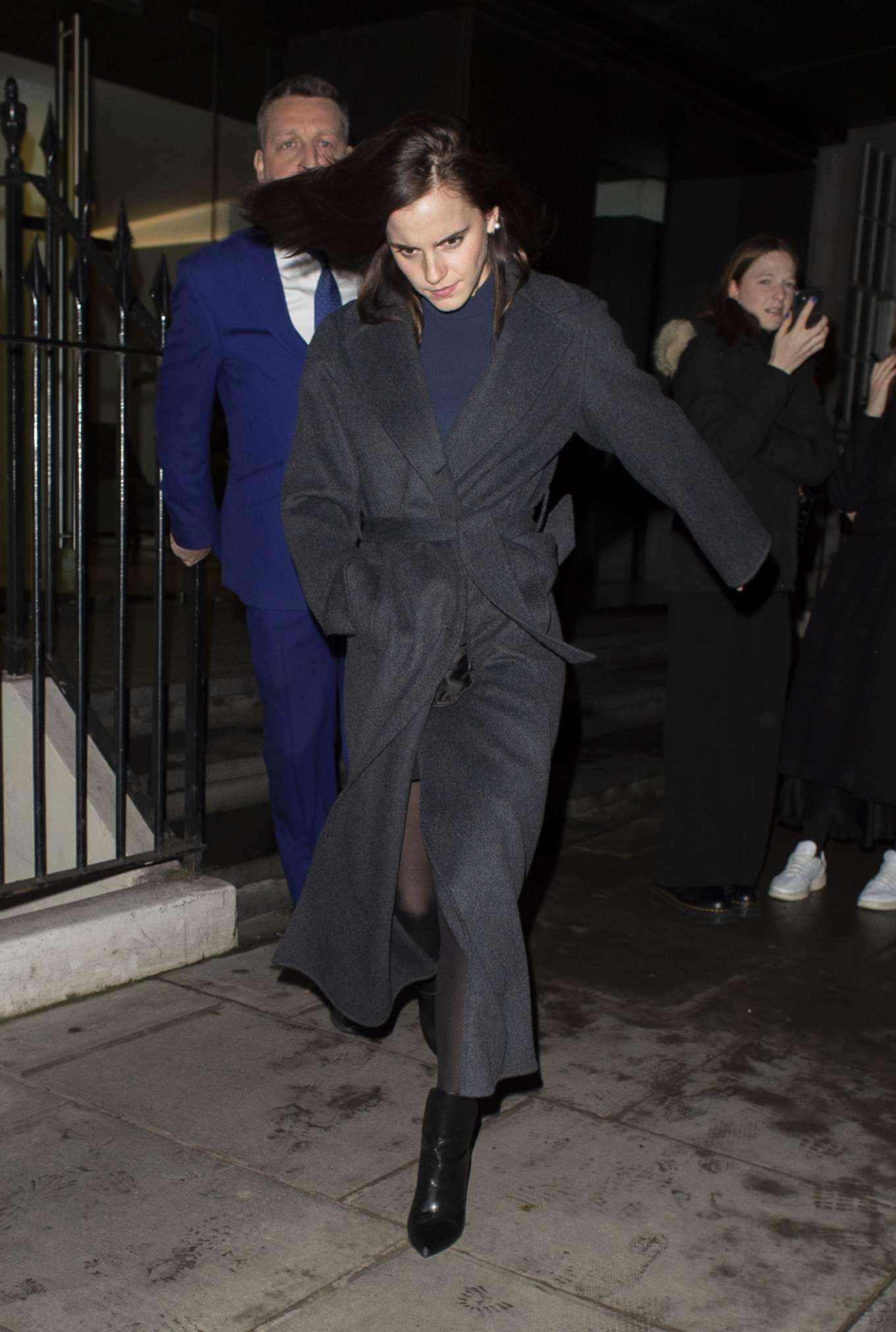 Emma Watson 2020 : Emma Watson – Leaving C restaurant in London-13