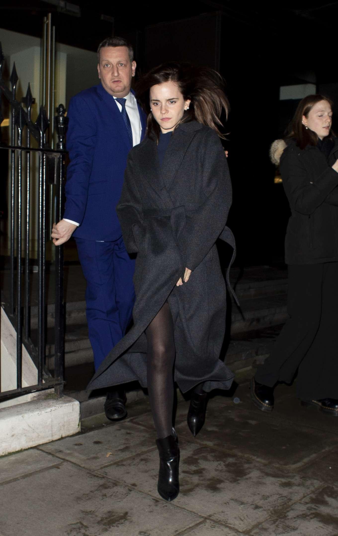 Emma Watson 2020 : Emma Watson – Leaving C restaurant in London-15