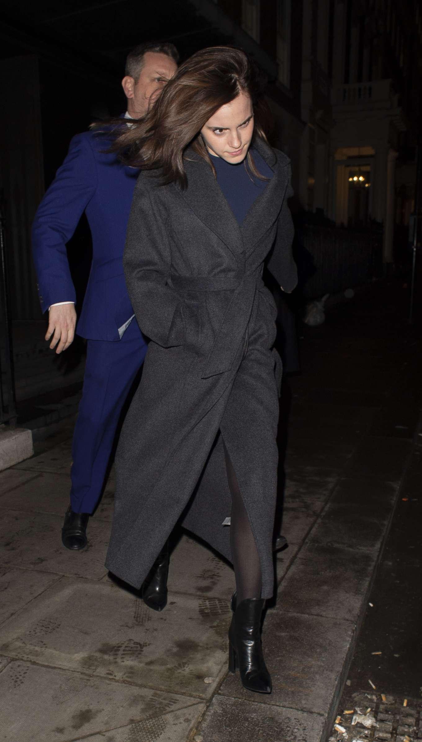 Emma Watson 2020 : Emma Watson – Leaving C restaurant in London-17