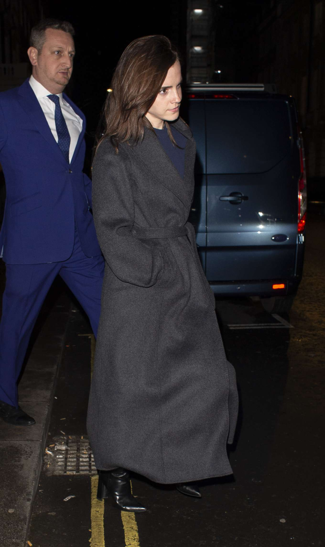 Emma Watson 2020 : Emma Watson – Leaving C restaurant in London-19