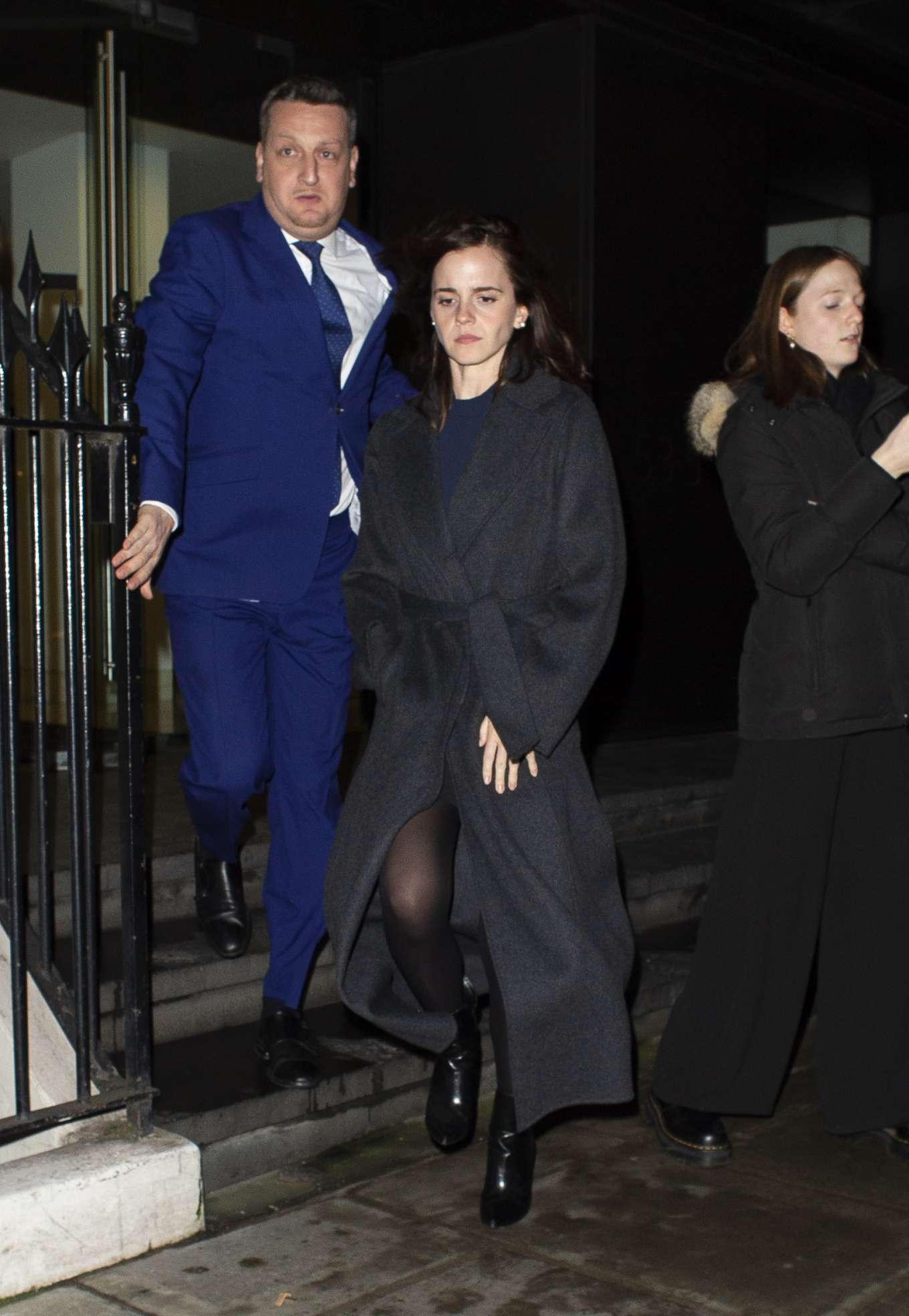 Emma Watson 2020 : Emma Watson – Leaving C restaurant in London-20