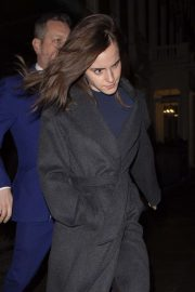 Emma Watson - Leaving C restaurant in London