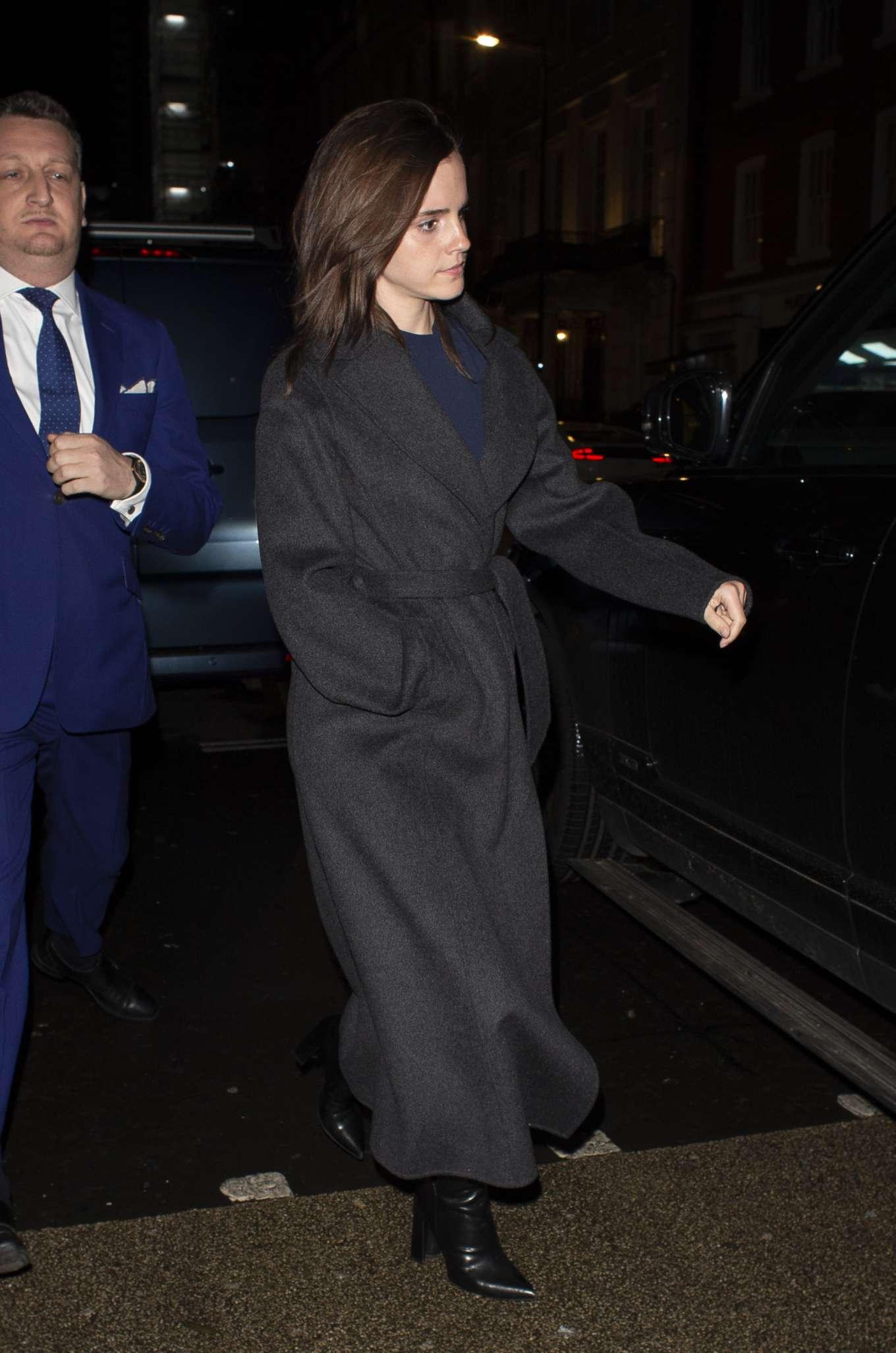 Emma Watson 2020 : Emma Watson – Leaving C restaurant in London-25