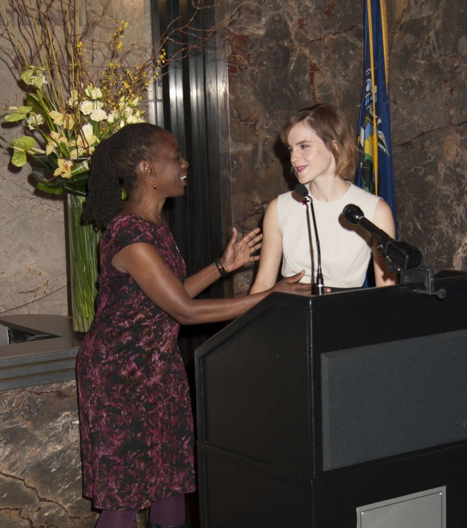 Emma Watson: Lights The Empire State Building for International Womens Day -03