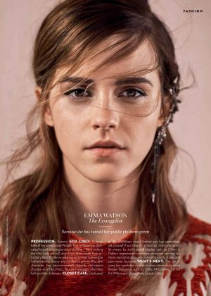 Emma Watson - Marie Claire Australia (February 2018)