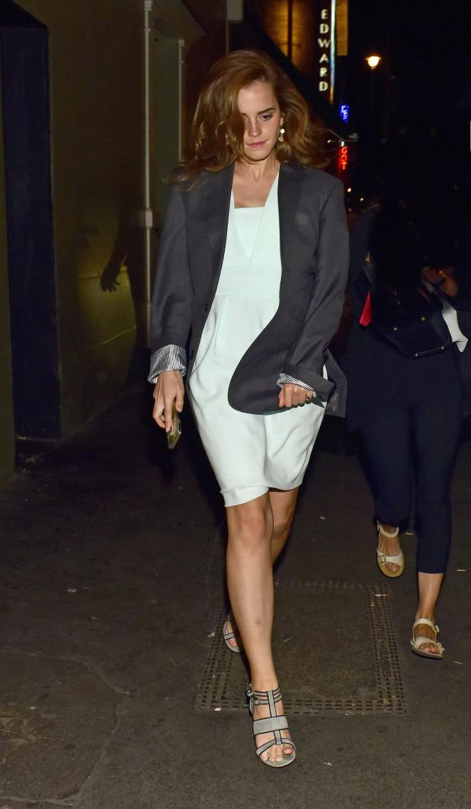 Emma Watson in Mini Dress -05