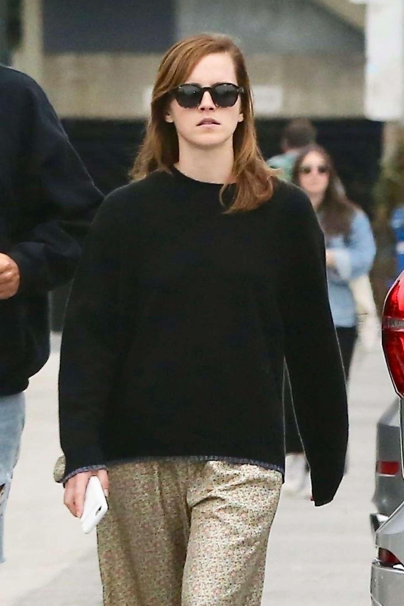 Emma Watson on Abbott Kinney in Venice