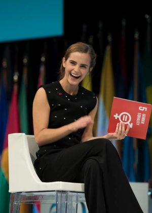 Emma Watson - One Young World Gender Equality Special Session in Ottawa