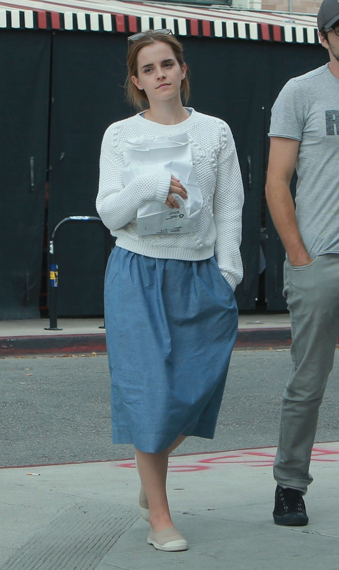 Emma Watson – Out and about in Los Feliz