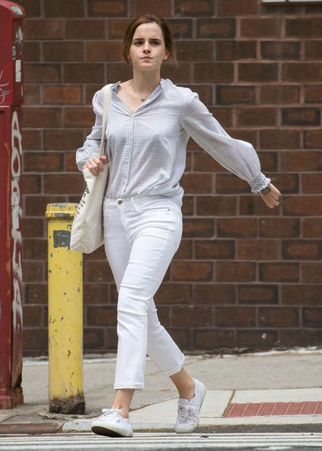 Emma Watson out and about in New York City