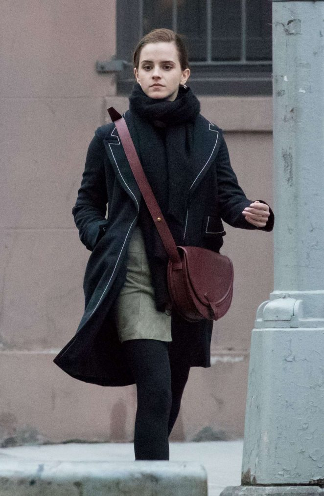 Emma Watson out in East Village