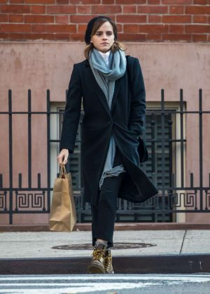 Emma Watson out in New York City