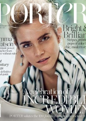Emma Watson - Porter Magazine Cover (Winter 2015)