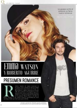 Emma Watson - Q Magazine (November 2015)