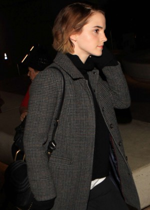 Emma Watson - Seen at airport