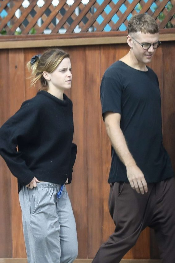 Emma Watson 2019 : Emma Watson – Seen with a friend at Superba Cafe in Venice-17