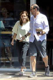 Emma Watson - Spotted outside Superba Cafe in Santa Monica