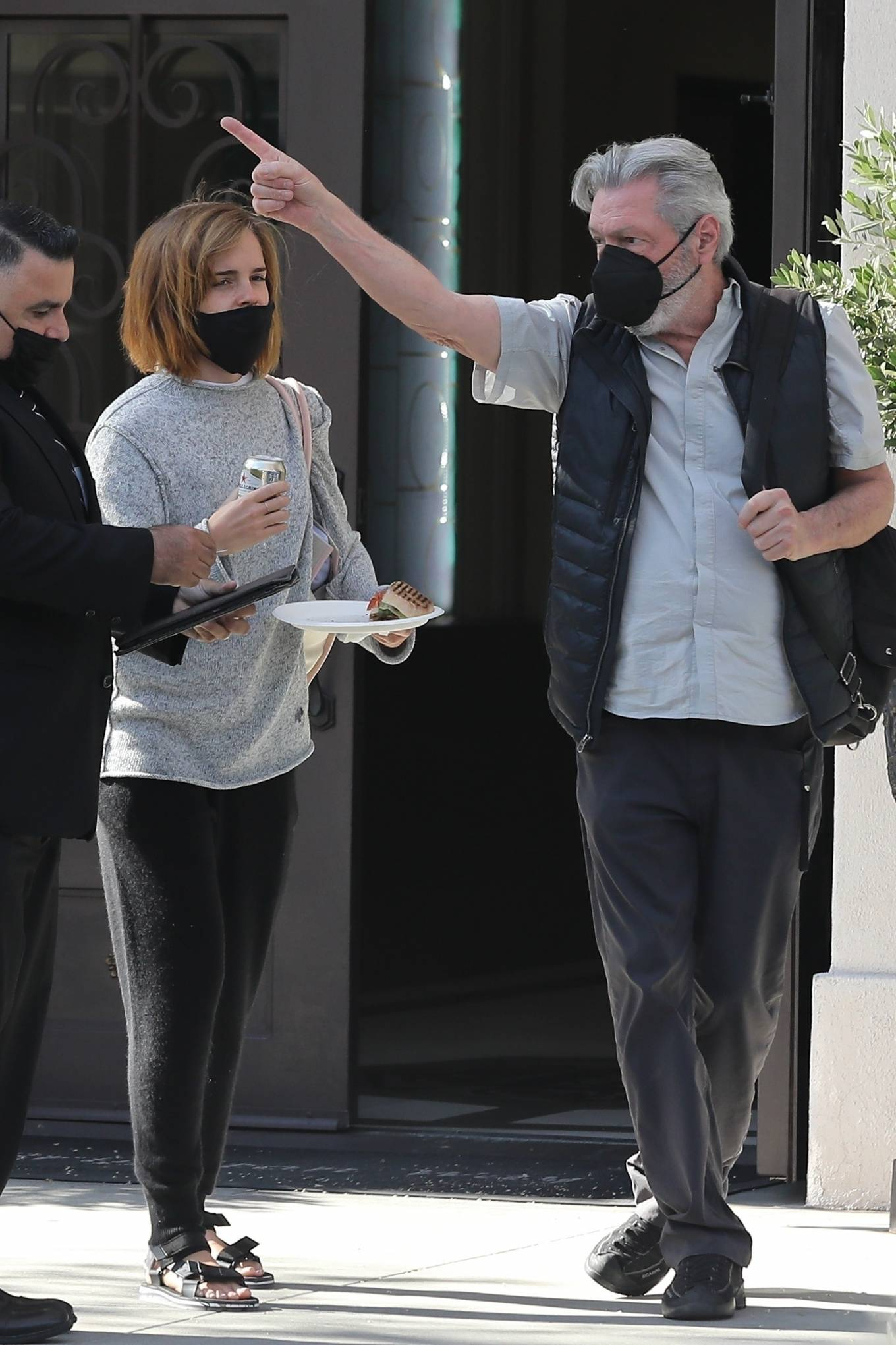 Emma Watson 2021 : Emma Watson – Spotted while leaving a visit to a Beverly Hills tailor-06