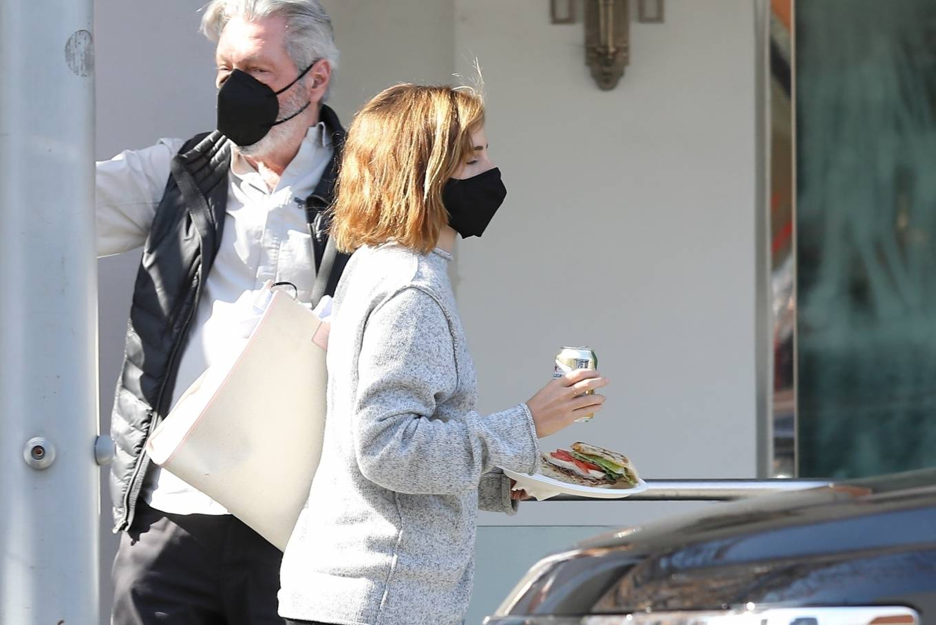 Emma Watson 2021 : Emma Watson – Spotted while leaving a visit to a Beverly Hills tailor-16