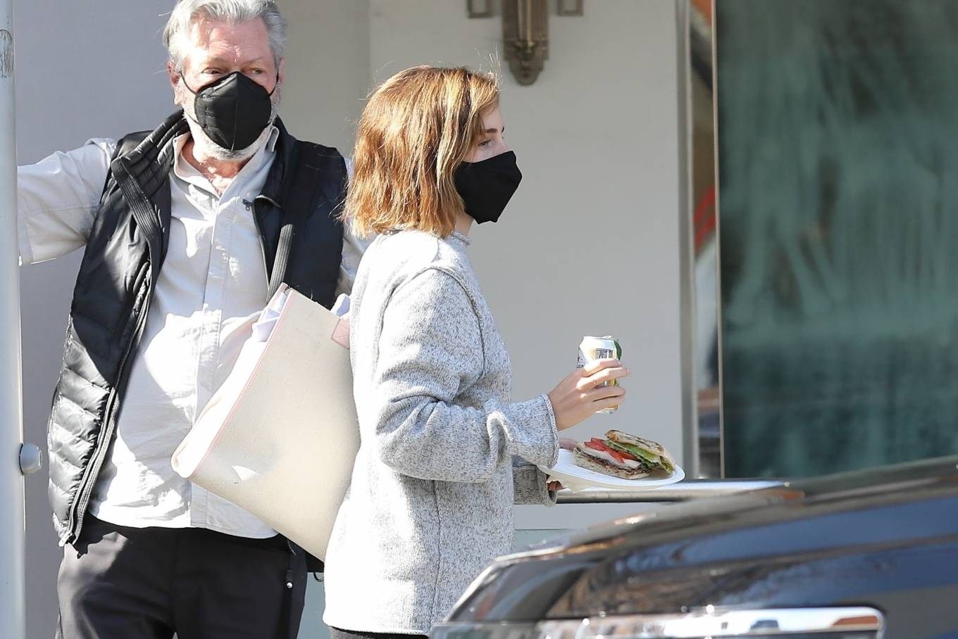 Emma Watson 2021 : Emma Watson – Spotted while leaving a visit to a Beverly Hills tailor-25