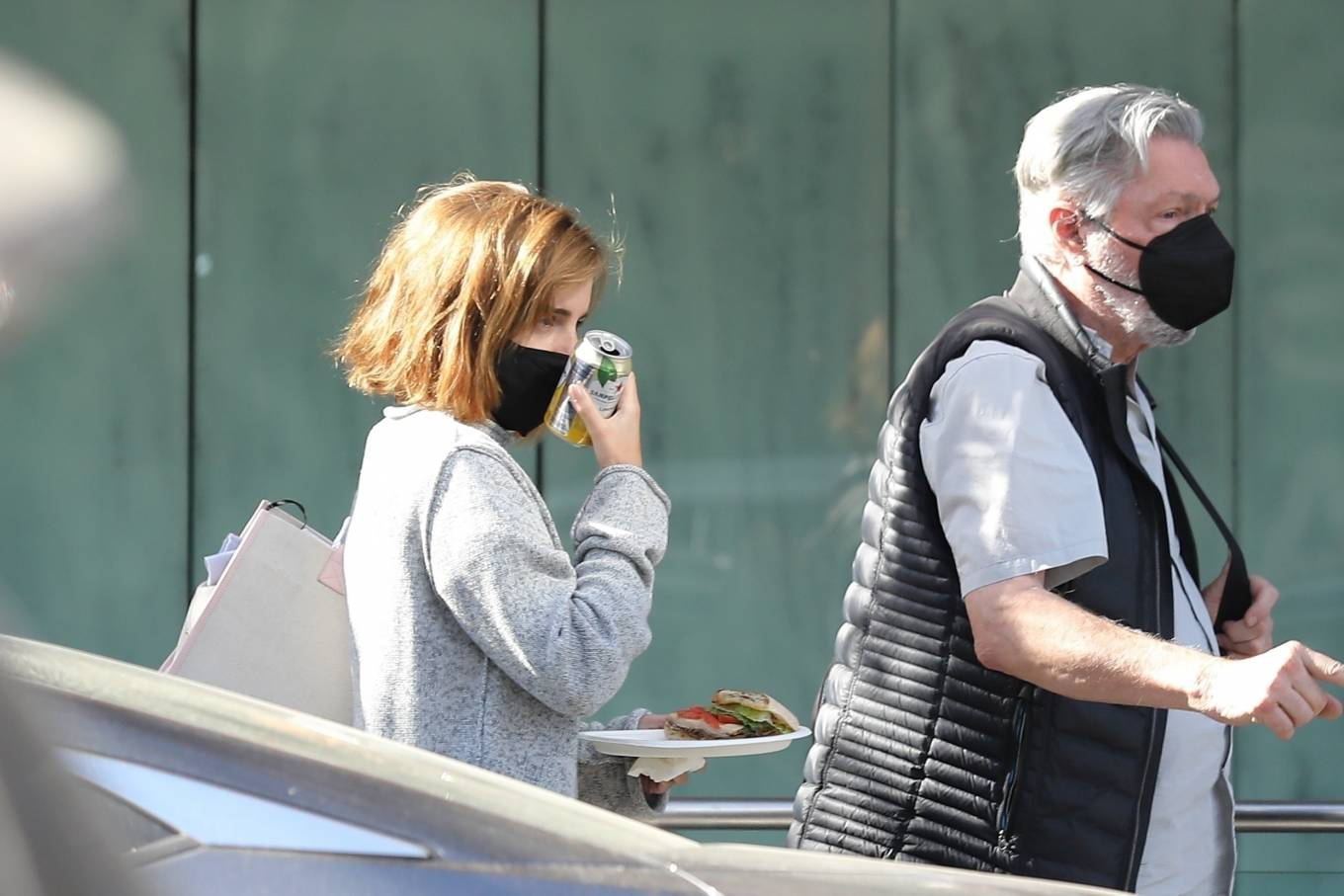 Emma Watson 2021 : Emma Watson – Spotted while leaving a visit to a Beverly Hills tailor-28