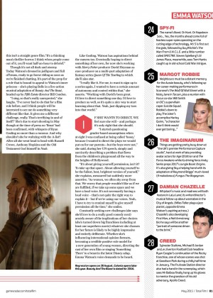 Emma Watson: Total Film 2015 -01