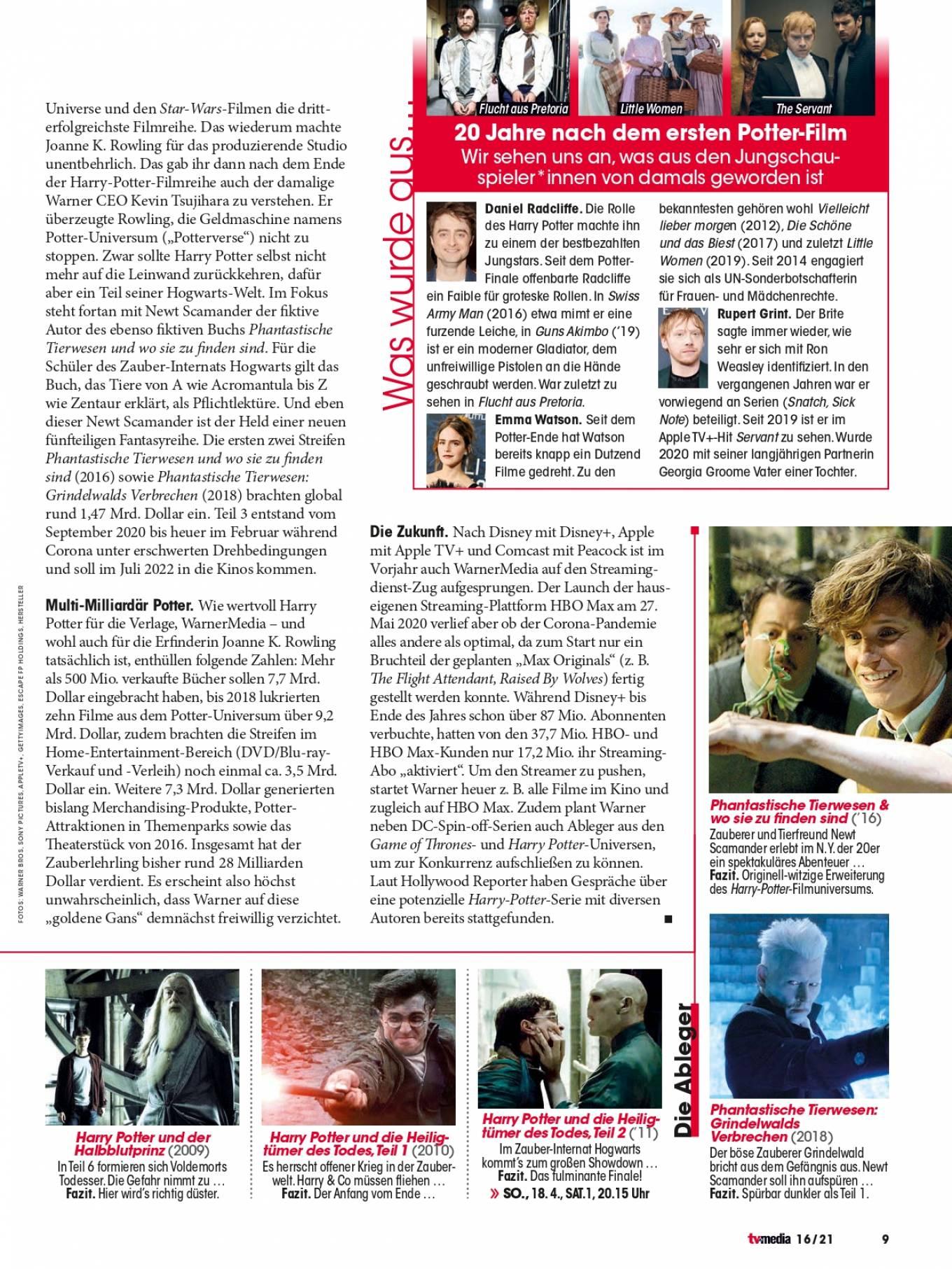 Emma Watson 2021 : Emma Watson – TV Media Magazine (April 2021)-01