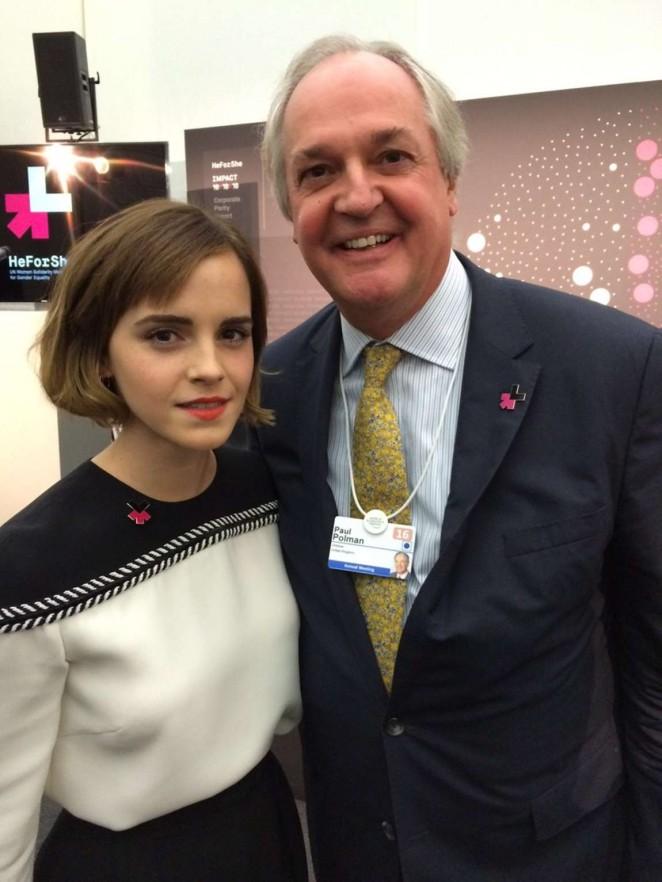 Emma Watson - UN Women's inaugural HeForShe Parity Report