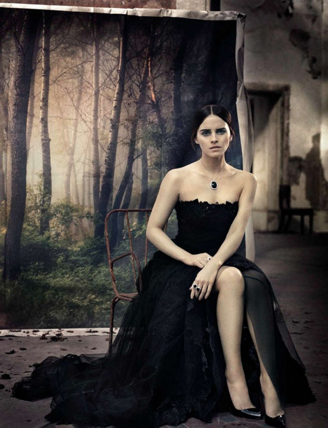 Emma Watson - Vogue Italy Magazine (November 2015)