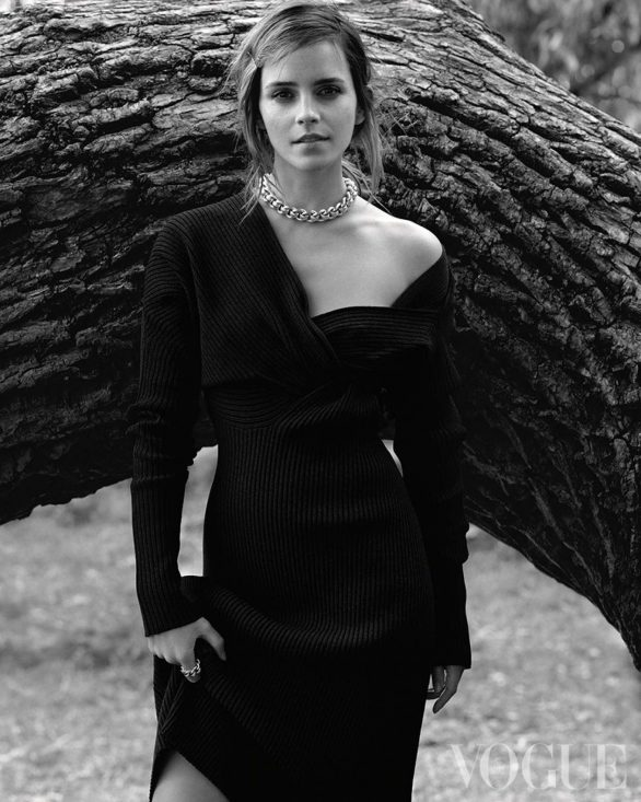 Emma Watson - Vogue UK Magazine (December 2019)