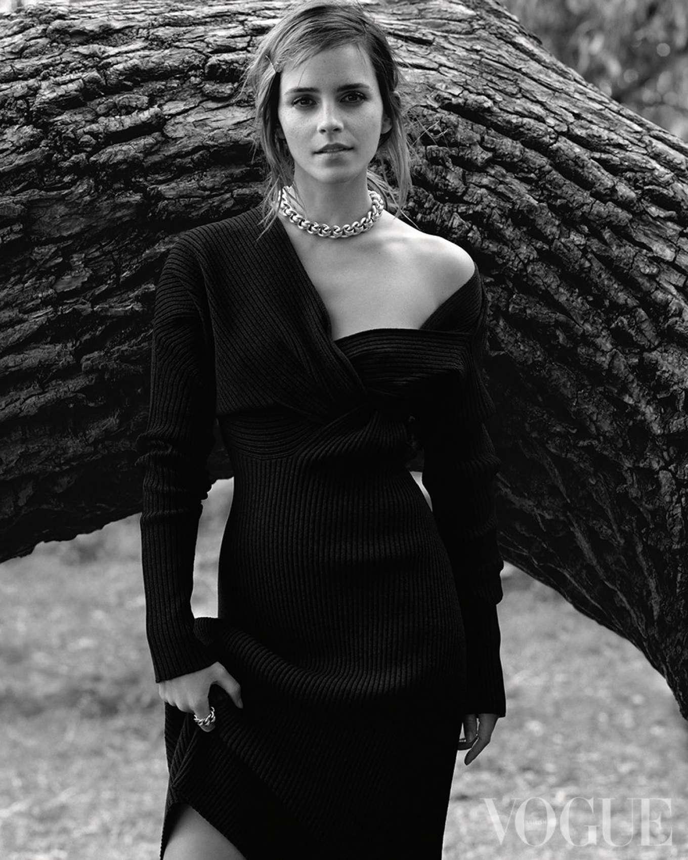Emma Watson - Vogue UK Magazine (December 2019)