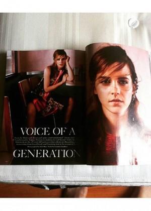 Emma Watson - Vogue UK (September 2015) Lindsay Lohan