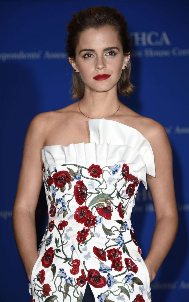 Emma Watson - White House Correspondents Dinner in Washington