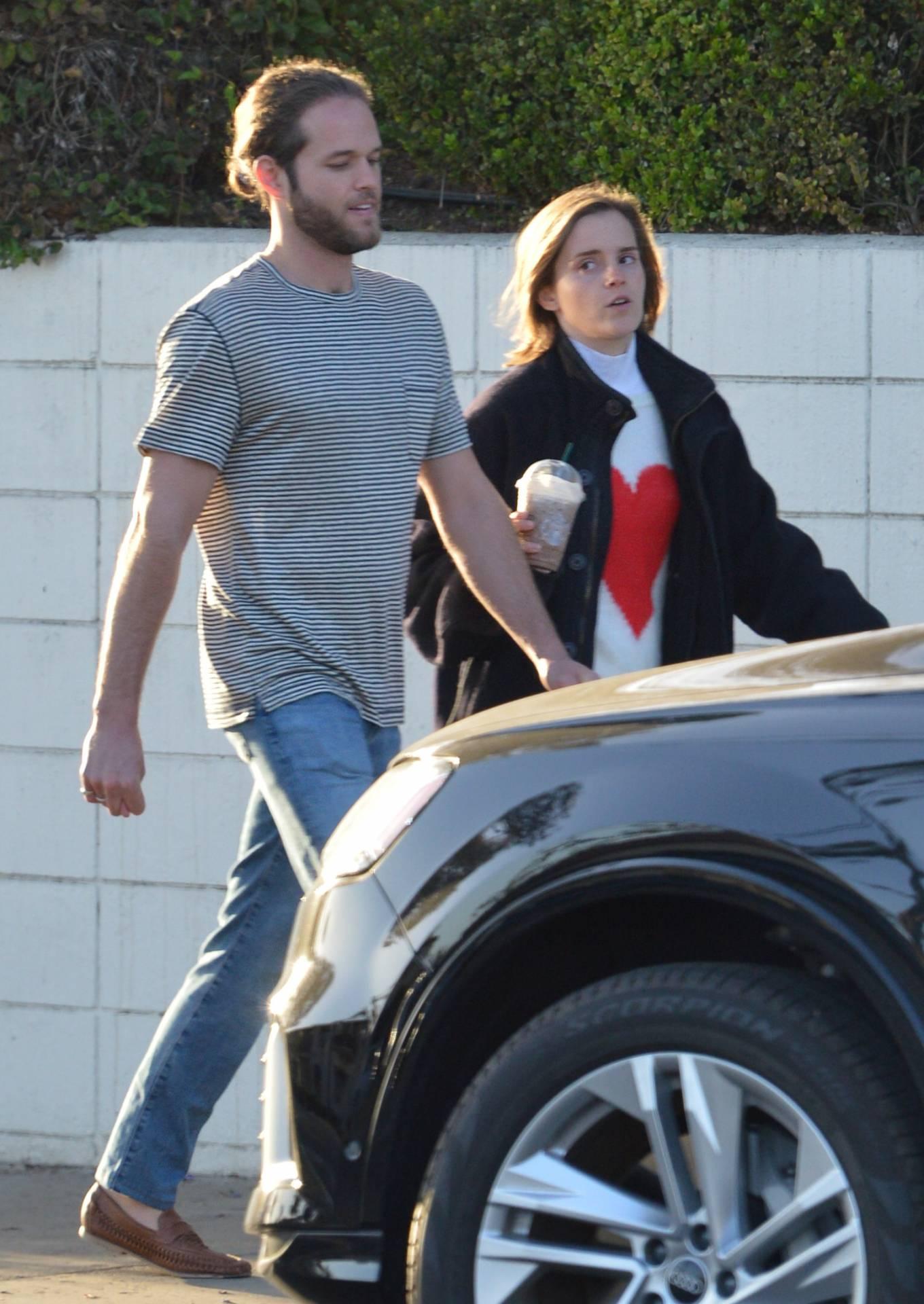 Emma Watson 2021 : Emma Watson – with beau Leo Robinton in Los Angeles-04