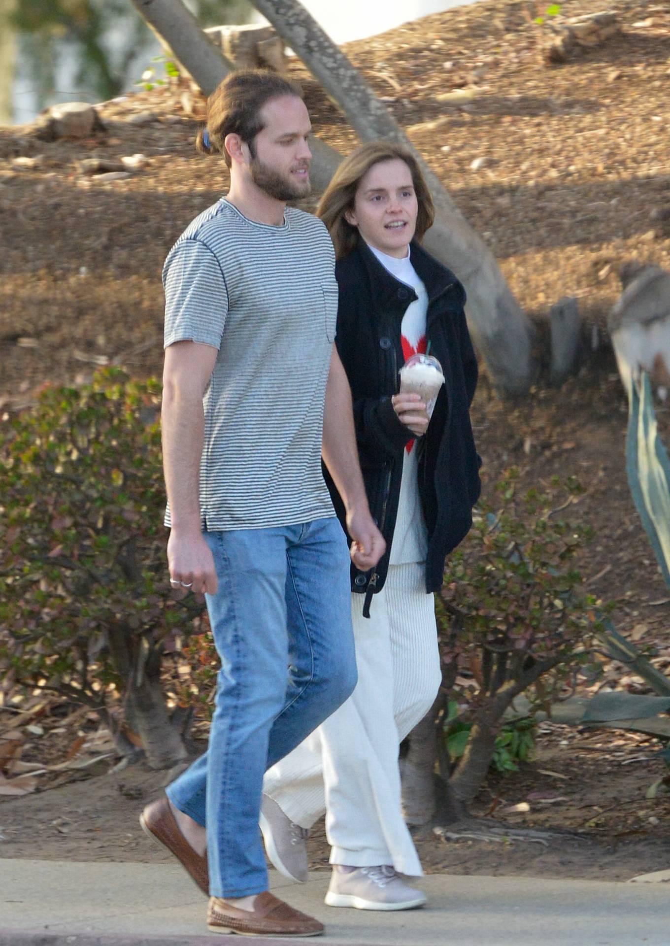 Emma Watson - with beau Leo Robinton in Los Angeles