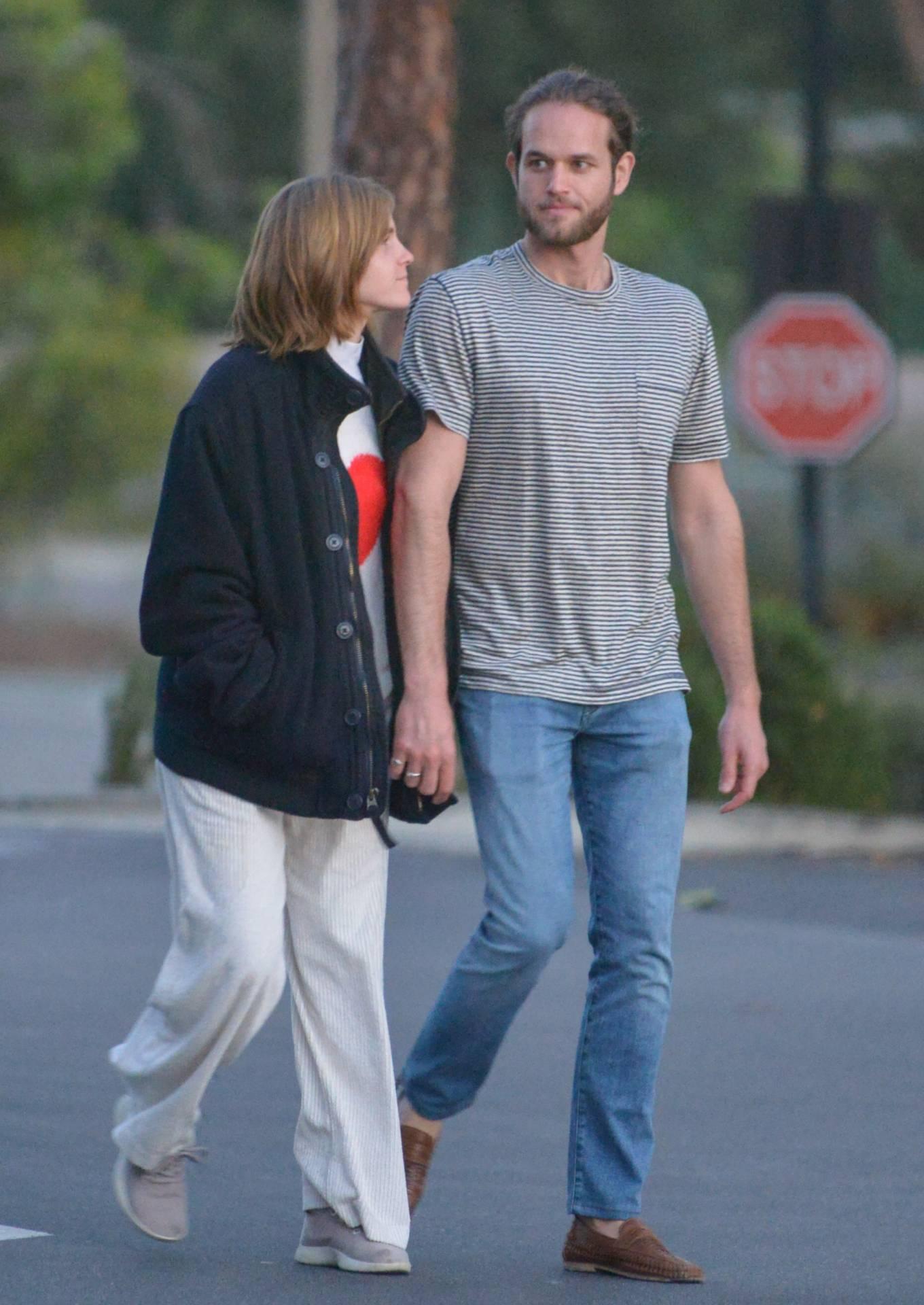 Emma Watson 2021 : Emma Watson – with beau Leo Robinton in Los Angeles-15